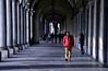 Repetita iuvant (encantadissima) Tags: torino piemonte portici capitelli colonne people luci ombre streetphotography