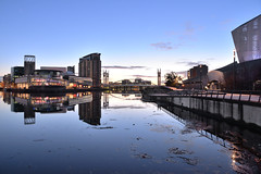 Salford Quays (PentlandPirate of the North) Tags: salfordquays manchester bluehour