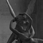 1 - Musée du Louvre - Antonio Canova, Psyché ranimée par le baiser de l'Amour, Marbre - Détail thumbnail