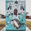 Utility Box Art, Big Chief David Montana by Angelica Verkeenko, Community Visions Unlimited (woody lauland) Tags: neworleans louisiana neworleansla nola la utilitybox art painting portrait
