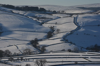 Lesser Lane, Combs, Peak District National Park, Derbyshire, England.