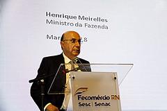 Ministro Henrique Meirelles palestra no Motores do Desenvolvimento