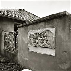 # 0152 . abandoned city ([aka] ed gonzalez) Tags: abandoned borschemich bronicasqai braunkohletagebau ilfordxp2400 mining coal opencast allesmussweg zenzanonps50
