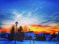 Sunset on a dreamy winter scene. (Edale614) Tags: sunset columbus ohio colorful nature landscapephotography naturelovers earl614