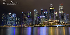 Singapore Skyline (rvk82) Tags: 2017 architecture centralbusinessdistrict december december2017 longexposurephotography marinabay nikkor1424mm nikon nikond850 rvk rvkphotography raghukumar raghukumarphotography singapore wideangle wideangleimages rvkonlinecom rvkphotographycom sg