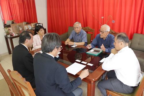 Visita do Cônsul-Geral do Japão em São Paulo, Yasushi Noguchi, à Associação Japonesa de Santos
