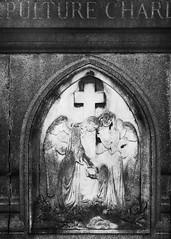 Angels in Paris (Christopher Mark Perez) Tags: angels perelachaise paris france cemeteryart cemetery bw blackandwhite monochrome