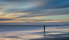 Gormleys Place - Crosby (Phil Durkin) Tags: 2017 crosby dusk evening lancashire statue sunset surreal beach cloudscape goldenhour jettymarker longexposure nopeople shore shoreline summer water