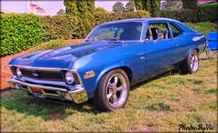 '71 Chevy Nova SS (Photos By Vic) Tags: 1971 71 classic car carshow chevy chevrolet nova ss vehicle vintage antique automobile blue 2017goodguys3rdnorthcarolinanationals