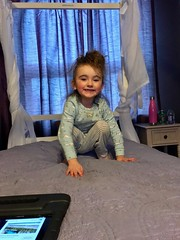 Photo#23-Chloe In Her Bedroom (☼☼ Jo Zimny Photos☼☼) Tags: 365the2018edition 3652018 day23365 23jan18 chloe smile granddaughter