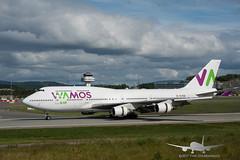 Wamos Air - EC-KQC - B747-400 (Aviation & Maritime) Tags: eckqc wamos wamosair boeing b747 b747400 boeing747 boeing747400 bgo enbr flesland bergenairportflesland bergenlufthavnflesland bergen norway