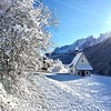 Winter Nova Levante Chapel (197travelstamps) Tags: allfreepicturesfebruary2018challenge winter ski novalevante welschnofen tyrol tirol south südtirol dolomites mountains alps snow