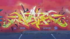 DVATE... (colourourcity) Tags: streetartnow streetart streetartaustralia graffiti melbourne burncity awesome colourourcity nofilters original stillgoingsolo dvate dv8 adn sdm mdr f1 f1c burner