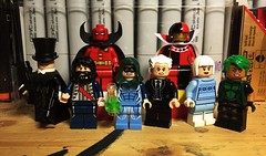 Bad, Bad, Good, Bad, Bad, Bad, Good, Good. (Lord Allo) Tags: lego dc justice league batman tally man vandal savage red tornado doctor alchemy rupert thorne psycho pirate ice fire