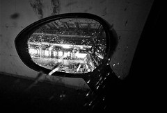 WP_20180205_001 (olivieri_paolo) Tags: supershots cars mirror parking bw abstract rain