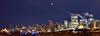Full lunar eclipse over Edmonton (drafiei1) Tags: eclipse lunareclipse moon alberta edmonton edmontondowntown downtown landscape night nightphotography nikon sunrise fullmoon bloodmoon nikonfxshowcase