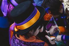 Trucco (paoloricciotti) Tags: scampia gridas murgardente murga carnevale carnevalesociale