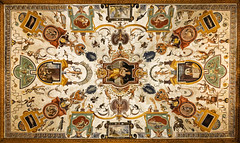 Yet another ceiling fresco from the Uffizi Gallery (George Fournaris) Tags: ceiling uffizi upwards florence italy art