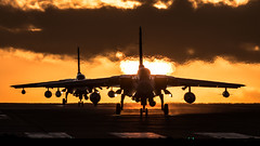 Tornado Sunset (Steve Cooke-SRAviation) Tags: 15sqn panavia raf 500mm tornadogr4 sunset stevecooke marham lightningll tornado sraviation 31sqn canon 100400mm 5d4 tonka explore explored