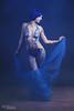 Blue Tape Project (MC Illusion) Tags: blue tape project mermaid siren implied nude model photo photography studio mcillusionphotography mcillusion black wig