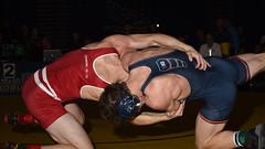 Zander Wick vs Eric Barone 6352 (Chris Hunkeler) Tags: zanderwick universityofwisconsin ericbarone universityofillinois bout340 149 roadrunneropen amateur college wrestling