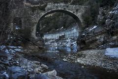 El puente (candi...) Tags: puente río agua rocas arboles naturaleza nature arquitectura airelibre sonya77