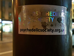 Psychedelic Society (Kombizz) Tags: 165135 kombizz london 2017 mobilephonetaking mobilephonecapture psychedelicsociety sticker psychedelictrip psilocin 4hydroxyn ndimethyltryptamine stephenreid stefanabosse gaiaharveyjackson greenlanes n16 dirtysticker