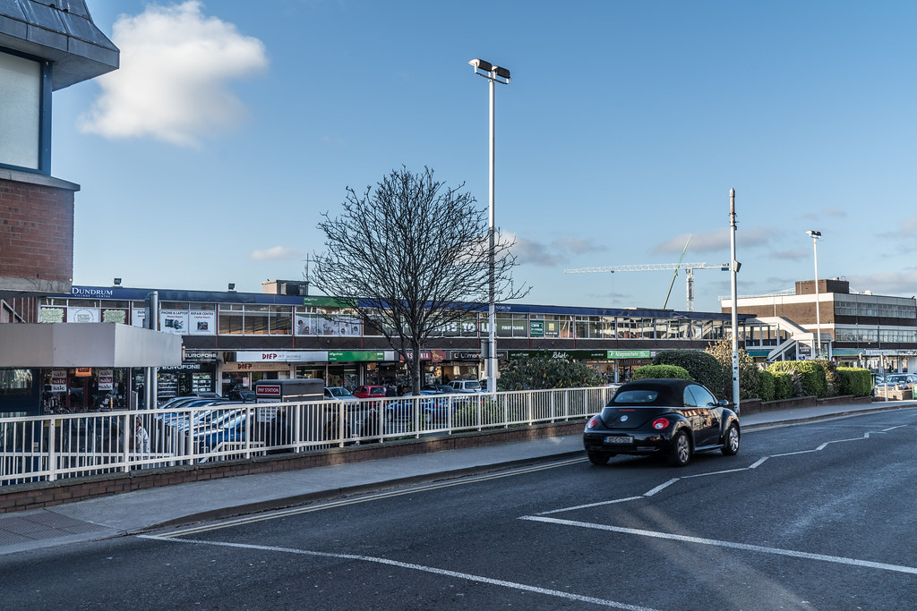 THE ORIGINAL DUNDRUM SHOPPING CENTRE BECAME A GHOST MALL FOR A WHILE [NOW REBRANDED AS DUNDRUM VILLAGE CENTRE]-135260
