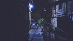 Dark alley (Vincent Monsonego) Tags: sony α αlpha alpha ilce7rm2 a7rii a7r2 sonyalphadslr fe 28mm f2 sel28f20 prime lens urban city tel aviv israel alley dark night street