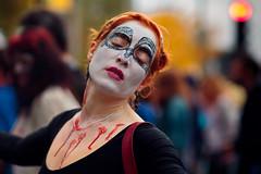 Zombie_003 (Besisika) Tags: montreal zombie walk lady fashion street people bokeh