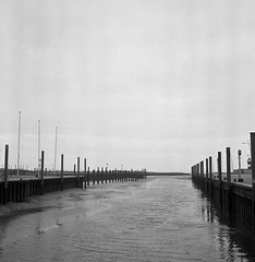 Harbour (Rosenthal Photography) Tags: hafen 20180107 wremen nordsee weser rodinal15021°c15min mittelformat landschaft bnw watt schwarzweiss bw rolleiflex35f 6x6 analog ilfordhp5 northsea sea mudflat harbour haven landscape seascape nature mood winter january rollei rolleiflex mediumformat blackandwhite 35f f35 sk schneiderkreuznach 75mm ilford hp5 hp5plus asa320 rodinal 150 epson v800
