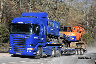 NORPOWER OVERHEARD LINE SERVICES SCANIA HIGHLINE STREAMLINE R580 V8 S600 NPR