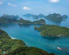 WCP-245.jpg (World Citizen Pix) Tags: sea landscape water bay sky mountain tree ocean boat marin marine park parc angthong kohsamui samui thailand thaïland île island bleu blue archipel archipelago