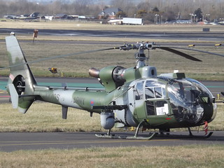XX405 Westland Gazelle Helicopter Army Air Corps