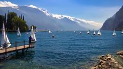 Gardasee (Holgi_BS_63) Tags: trentino gardasee lagodigarda riva wasser stadt