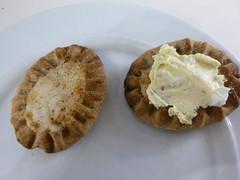 Karelian pastries (JohntheFinn) Tags: kesä summer helsinki suomi finland europe eurooppa food ruoka suomalainen finnish finnishcuisine karjalanpiirakka munavoi