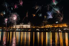 Dresden_44 (s4rgon) Tags: altstadt brühlscheterrasse city dresden elbe feuerwerk firework fluss gebäude langzeitbelichtung nacht neujahr newyear night river sachsen saxon silvester longtimeexposure