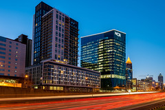 Atlanta (Jon Ariel) Tags: atlanta georgia ga northgeorgia lights traffic morning sunrise ncr