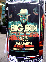 Big Boi (knightbefore_99) Tags: poster art live show gig concert vancouver commodore ballroom bigboi rap cool daddyfatsaxxx tour music granville awesome great