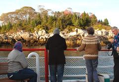Portland Maine Mail Boat trip (pag2525) Tags: island coast rocky sweater people portland maine me mail boat trip ocean sea water newengland fall cruise atlantic