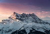 Fin d'année sur les Dents du Midi... (Valentin le luron) Tags: 20180115 leysin dentsdumidi vaud romandie suisse aurore montagne paysage chablais nuage neige nikon 800 e yves paudex lausanne
