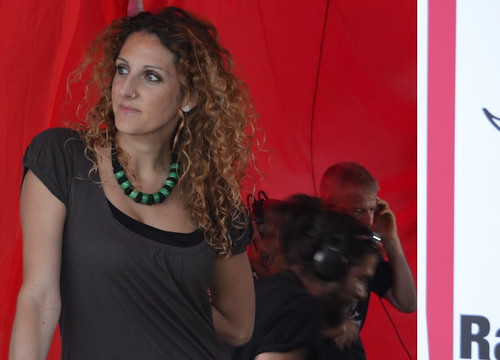 Ciara Dori Moncada 🌹 #ifest 📷 ] ; ) ::\☮/>> http://www.elettrisonanti.net/galleria-fotografica  🔊 #radiosonar #csoasanspapier  🎥#elettritv📲💻 #parconomentano 🎧 #99posse #massimojovine #musica  #so