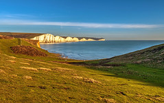 The Seven Sisters (niloc's pic's) Tags: thesevensisters southdowns eastsussex cliffs sea sky grass hopegap panasonic lumix dmcgh4r