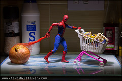 So that's where all the onions have been going! (Pikebubbles) Tags: davidgilliver davidgilliverphotography spiderman theavengers avengers marvel toys toy toyart tiny miniature miniatures miniatureart miniart toyphotography toyphotographer creative creativephotography canon onion foodshop web