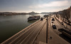 Buda side - Budapest (ciwi.photography) Tags: river donau danube flus buda budapest parliament parlament pest daylight ship schiffe ungarn hungary