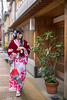 Young woman in kimono walking in traditional Japanese town (Apricot Cafe) Tags: img25883 asia asianandindianethnicities higashichayamachi ishikawaprefecture japan japaneseethnicity japaneseculture kanazawa kimono sigma35mmf14dghsmart artscultureandentertainment beautifulwoman buildingexterior charming cheerful citylife cultures day enjoyment fashion freedom freshness fulllength hairaccessory happiness hotel lifestyles longhair nature oldfashioned oneperson onlywomen outdoors photography relaxation ryokan shopping shoppingstreet smiling springtime straighthair street tourism tradition traditionalclothing tranquility travel traveldestinations walking weekendactivities women youngadult