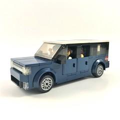 Ford Flex (wooootles) Tags: lego moc legomoc ford flex fordflex suv legosuv wagon legowagon crossover cuv 6wide