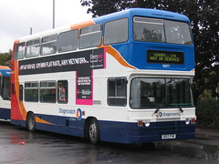 D127 FYM Exeter 17-8-06 (marktriumphman) Tags: stagecoach devon exeter london transport leyland on