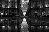 Via Nazionale (Stefano Avolio) Tags: vianazionale piazzadellarepubblica piazzaesedra bw blackwhite blackandwhite architettura architecture stefanoavolio savolio biancoenero bianconero monocromo nuvole clouds pozzanghera reflection riflesso puddle