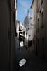 In The Mirror (sdupimages) Tags: street rue montmartre paris miroir mirror reflet reflection bokeh architecture